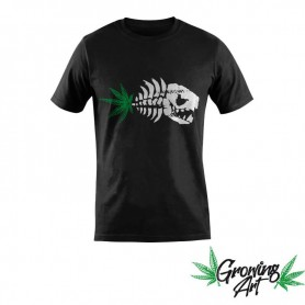 tshirt growing art piranha 420 culture cannabis gadgets